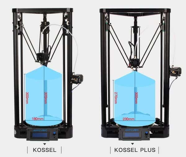 Широкоформатный принтер для объёмной печати Kossel