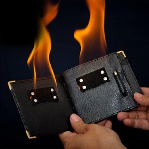 Бумажник для фокусов с огнём