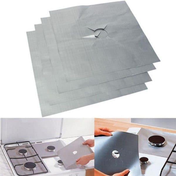 Многоразовые защитные коврики для плиты