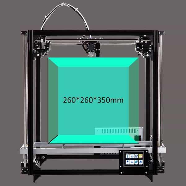 Принтер с большой областью печати Flsun Cube