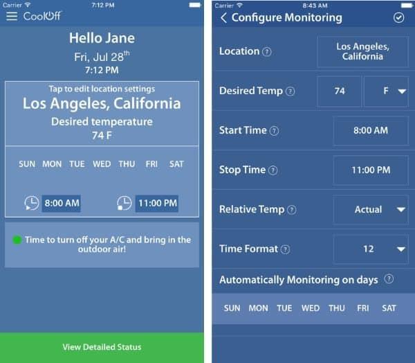 Cool Off — приложение для экономии на кондиционере