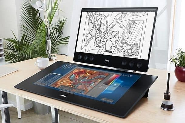 Dell Canvas – интерактивный экран 27