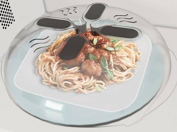 «Парящая» крышка для микроволновой печи