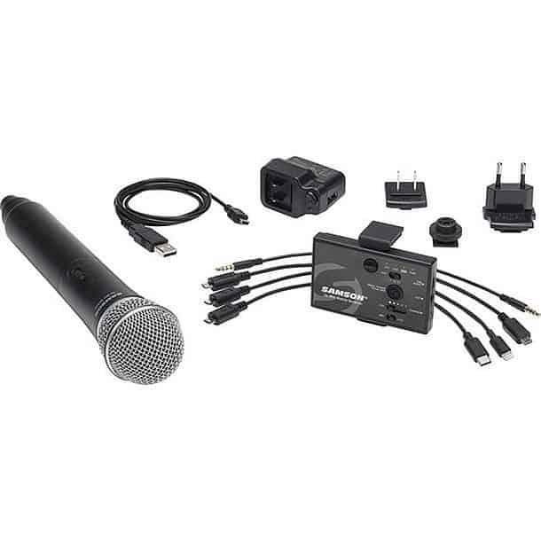 Беспроводной микрофон для смартфона Samson Go Mic Mobile