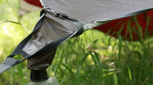 Всепогодный навес на гамак с системой водосбора Kammock Glider