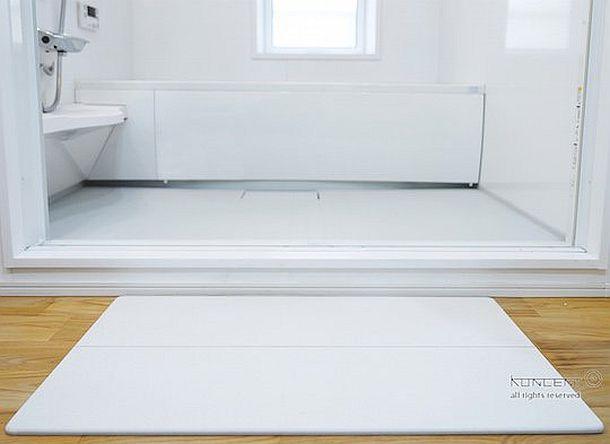 Диатомитовый впитывающий коврик для ванной Keisodo