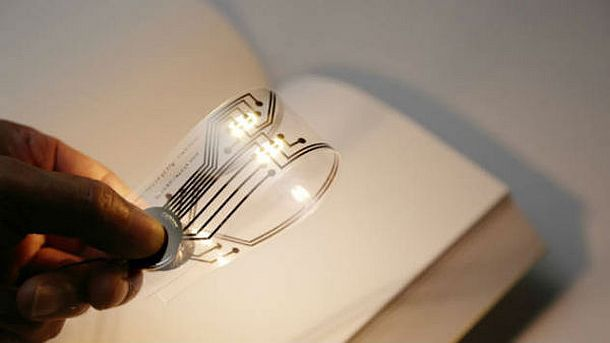 Закладка для книги со светодиодной подсветкой