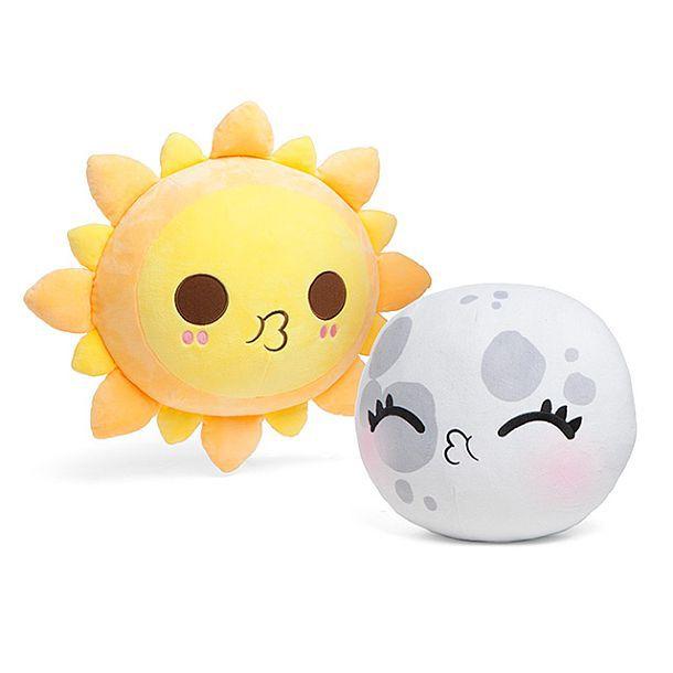 Комплект подушек-антистресс, имитирующих солнечное затмение