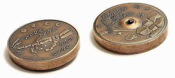 Крутящаяся монета для принятия решений Tempus Spin Coin