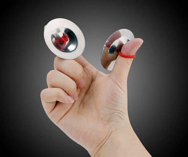 Миниатюрные пальцевые тарелочки Finger Cymbals