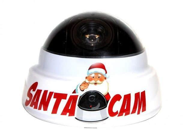 Муляж видеокамеры с изображением Санта Клауса для воспитания детей Santa Cam