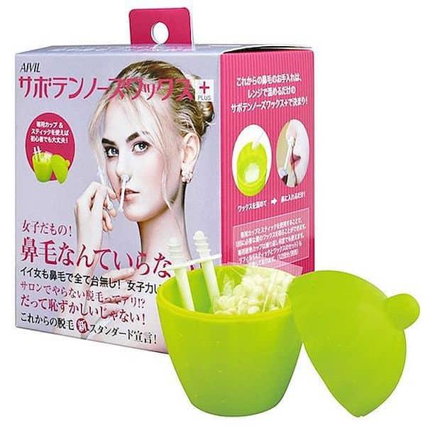 Набор восковых палочек для мгновенного удаления волос в носу