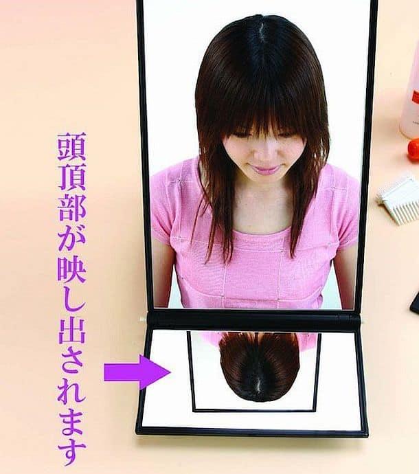 Набор зеркал для окраски волос