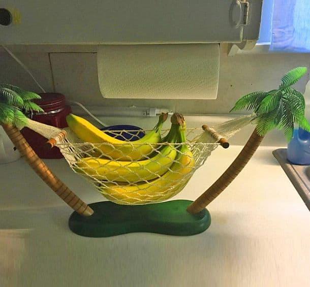 Настольная ваза для бананов в виде гамака Banana Hammock