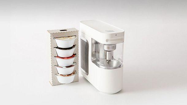 Настольный прибор для приготовления замороженных молочных десертов Wim