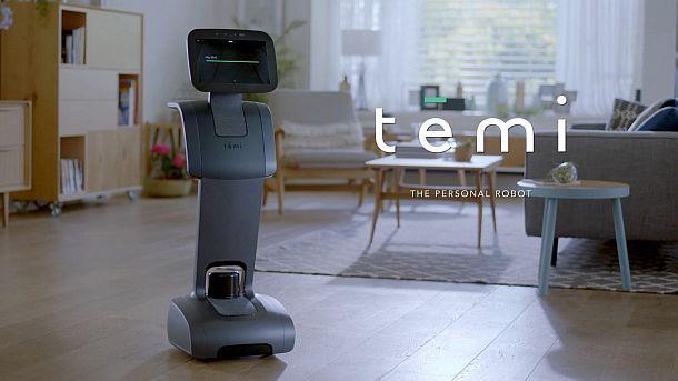 Персональный робот-помощник с голосовым управлением Temi