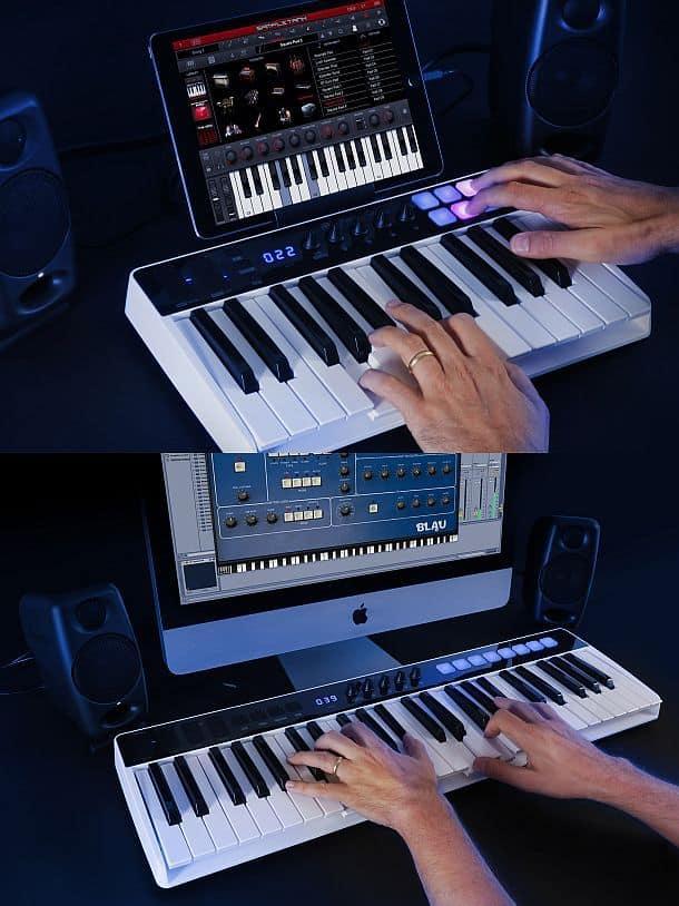 Портативная музыкальная клавиатура iRig Keys IO