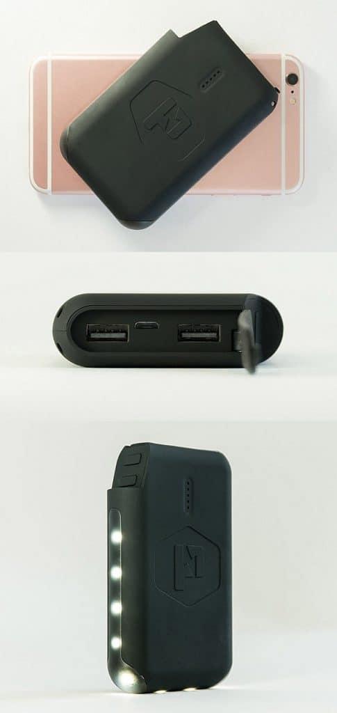 Портативное зарядное устройство Pronto со световой подсветкой