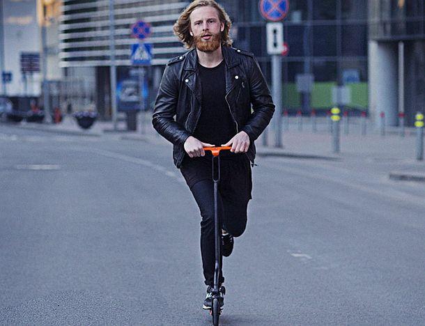 Складывающийся скутер citybirds Raven