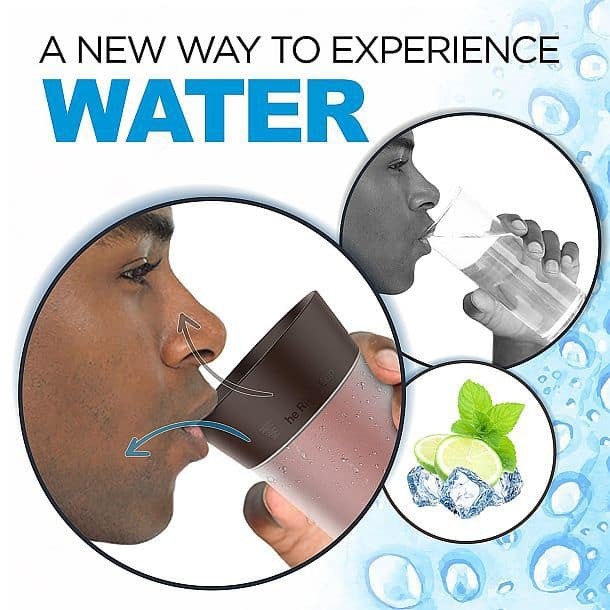 Стакан Right Cup, придающий питьевой воде дополнительный аромат и вкус