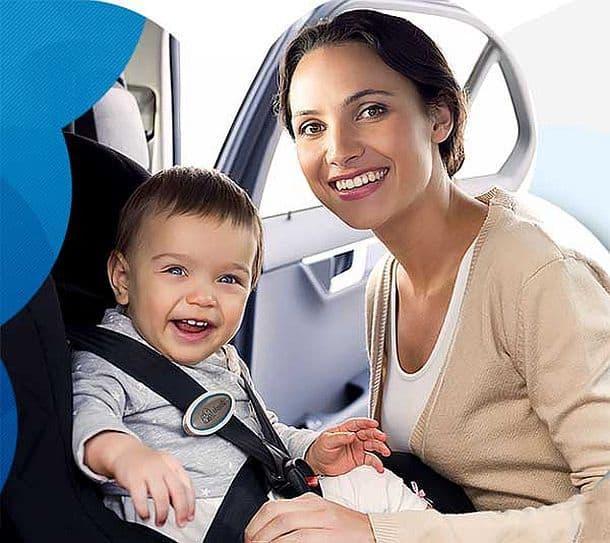 Трекер eClip от Elepho поможет не забыть ребенка в машине