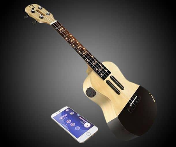 Умная мини-гитара укулеле Populele