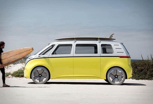 Электрический микроавтобус Volkswagen I.D. Buzz