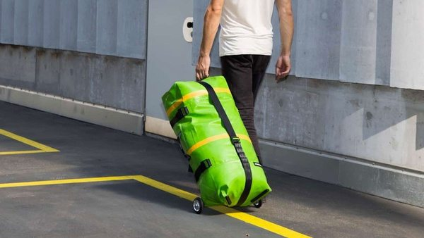Надувная дорожная сумка Zippelin