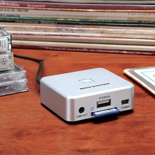Приспособление для оцифровки плёночных аудиокассет