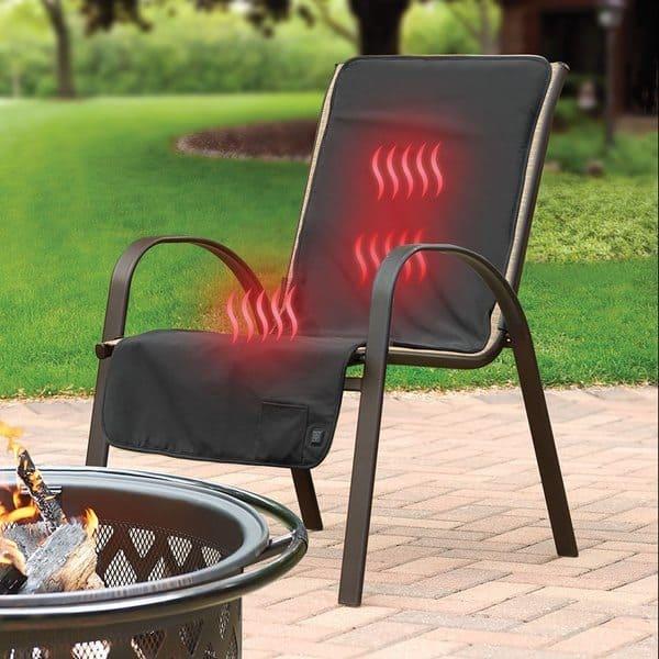 Беспроводная термонакидка для стульев и кресел