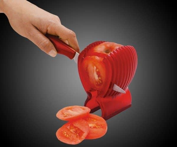 Стойка для аккуратной нарезки томатов