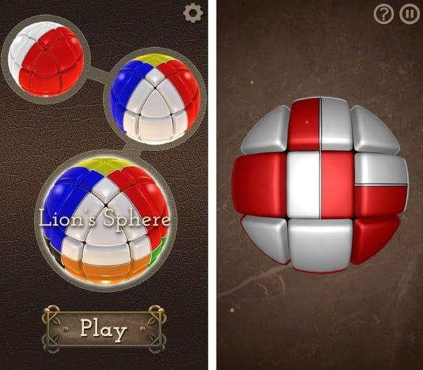 Lion's Sphere — головоломка для смартфонов