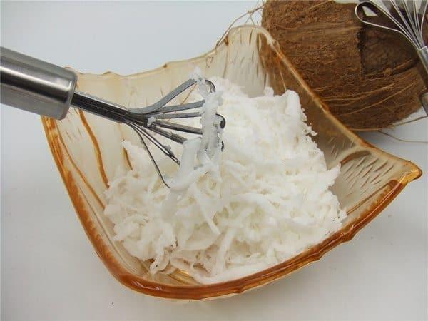 Скребковый нож для получения кокосовой стружки