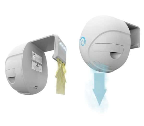 Туалетный очиститель воздуха с подсветкой и датчиком движения