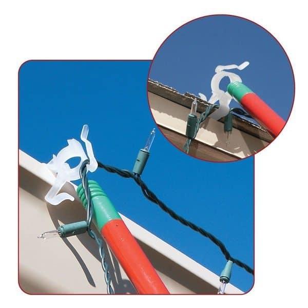 Телескопический шест для подвешивания гирлянд