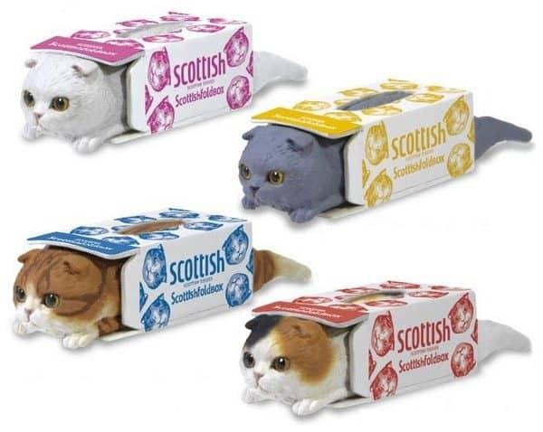 """Ящичек для бумажных платков """"Котик в коробке"""""""