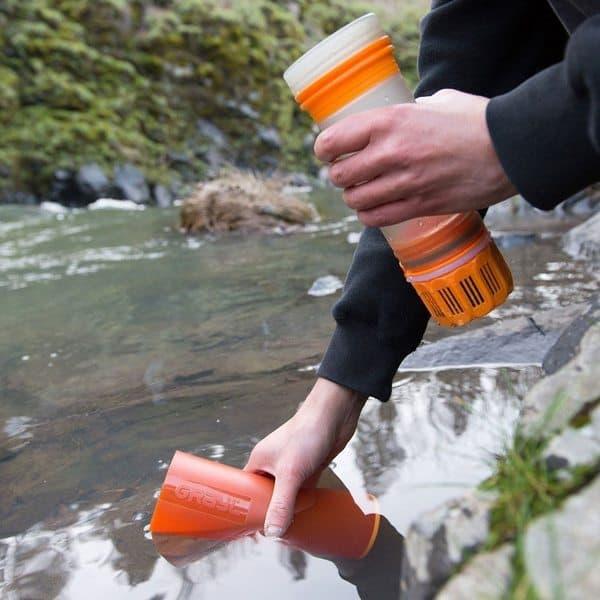 Бутылка для воды со встроенной системой очистки Grayl