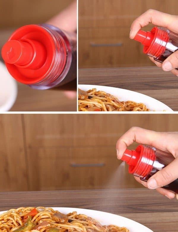 Двойной диспенсер для масла и уксуса
