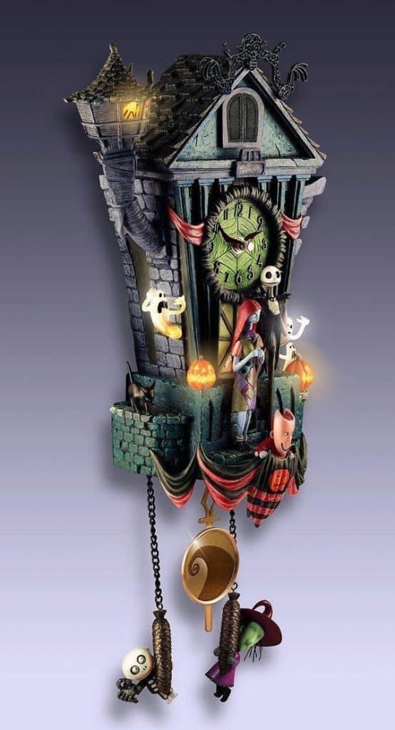 Настенные часы с кукушкой Nightmare Before Christmas