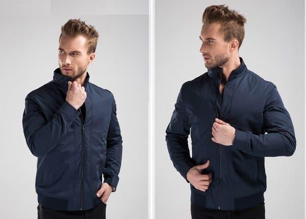 Модная мужская куртка с защитой от ножевых порезов
