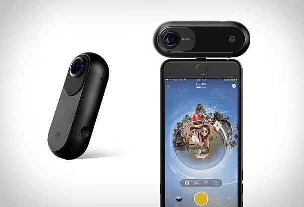 4 К фото-видеокамера кругового обзора Insta360 One