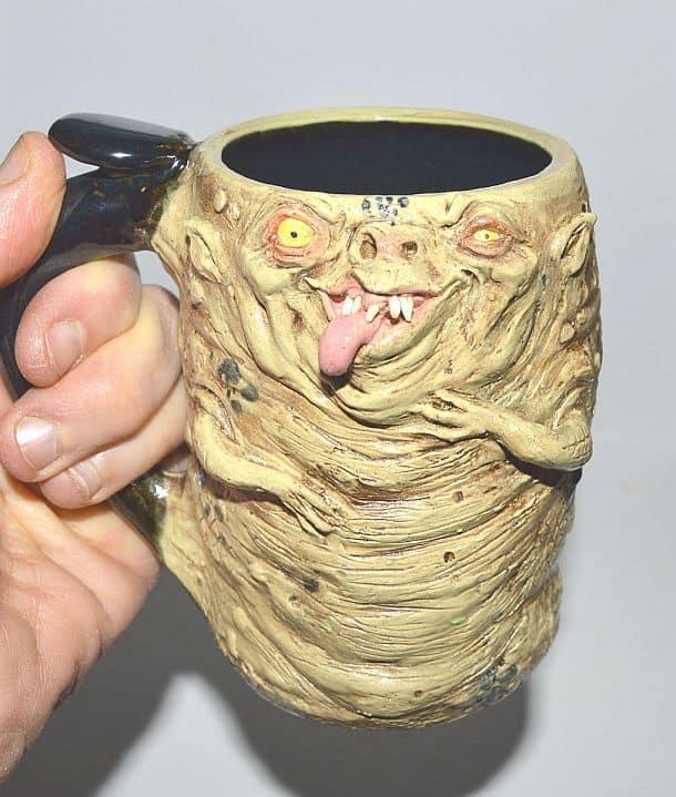 Авторские пивные бокалы в стиле ужастиков Scravis Mugs
