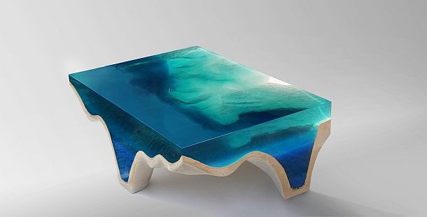Дизайнерский столик Crete от Эдуарда Лакоты