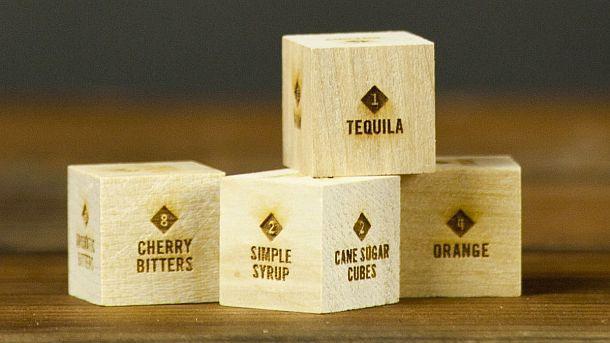 Игральные кубики для бара Mixology Dice