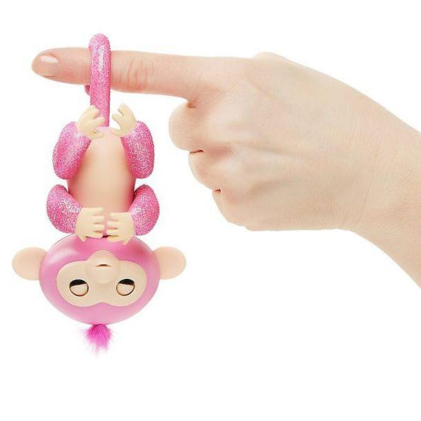 Интерактивная игрушка-робот обезьянка Fingerling