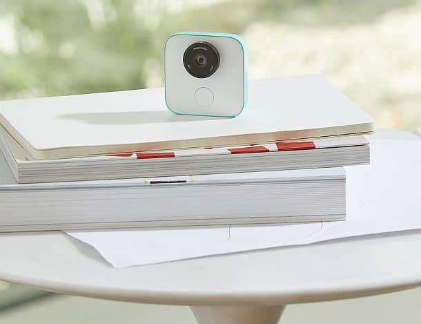 Компактная камера Google Clips с искусственным интеллектом
