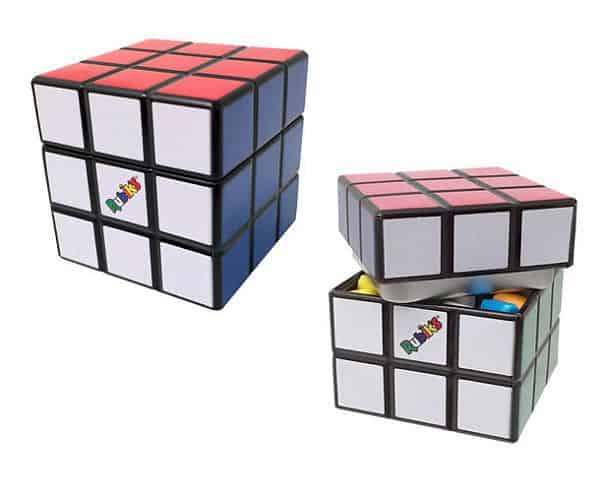 Кондитерский контейнер в виде кубика Рубика
