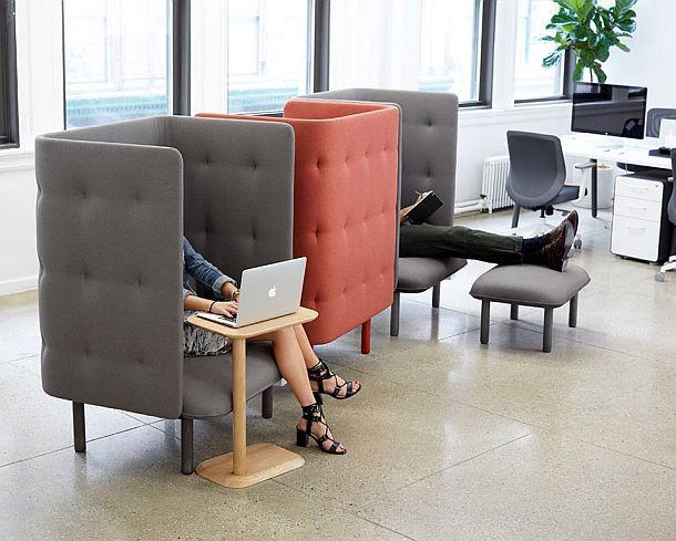 Кресло для приватности QT от Poppin