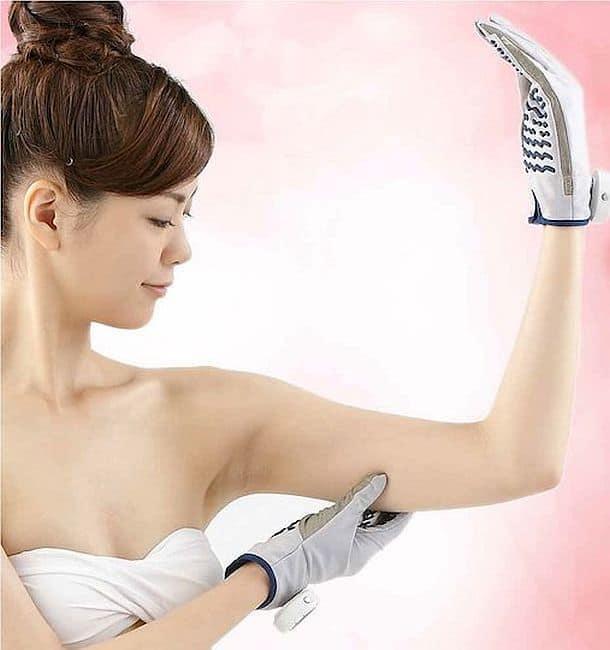 Перчатки для домашней электромиостимуляции