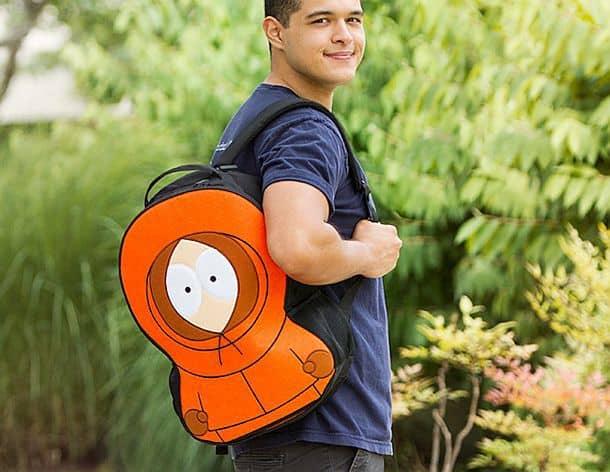 Рюкзак в виде героя мультсериала «Южный Парк» Кенни Маккормика